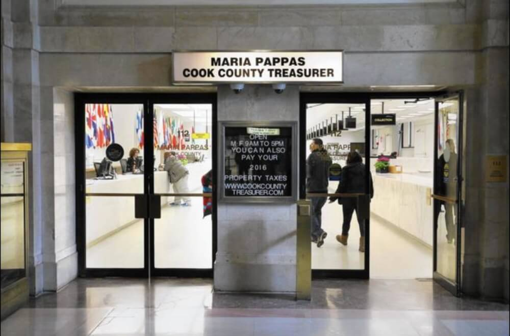 Offices of Cook County Treasurer Maria Pappas. Photo courtesy of the Cook County Treasurer's office
