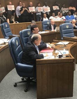 Sean Morrison at Cook County board