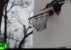 run down basketball court