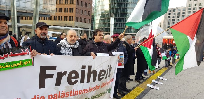 Last night in Berlin: The attack on Rasmea Odeh is an attack on Palestine