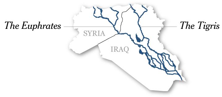 العراق بين النارين